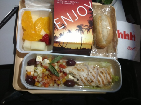"Delta ""Chicken Salad"" Coach Meal"
