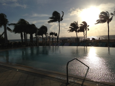 Sheraton Fort Lauderdale Beach Resort Infinity Pool