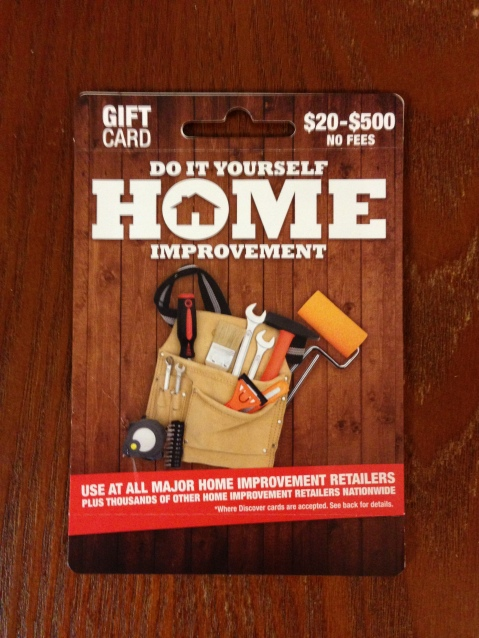 Home Improvement Gift Card