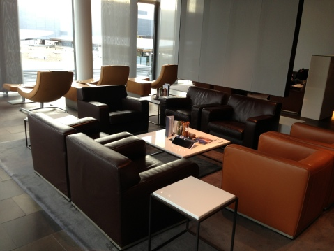 Seating in the First Class Terminal