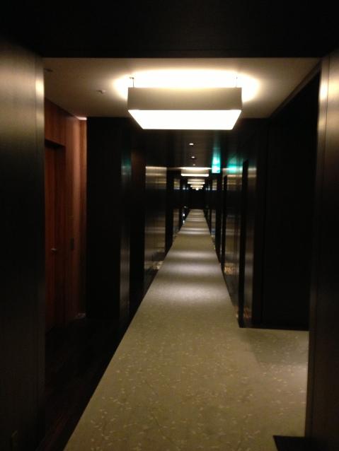 Conrad Tokyo Hallway