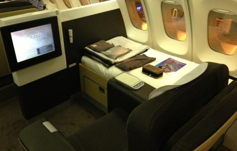Lufthansa Amenity Kit and Pajamas