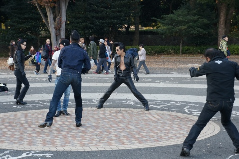 Yoyogi Park Rockabilly Group