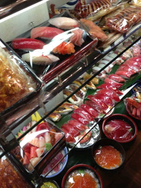Plastic Food for Sale at Kappabashi Street